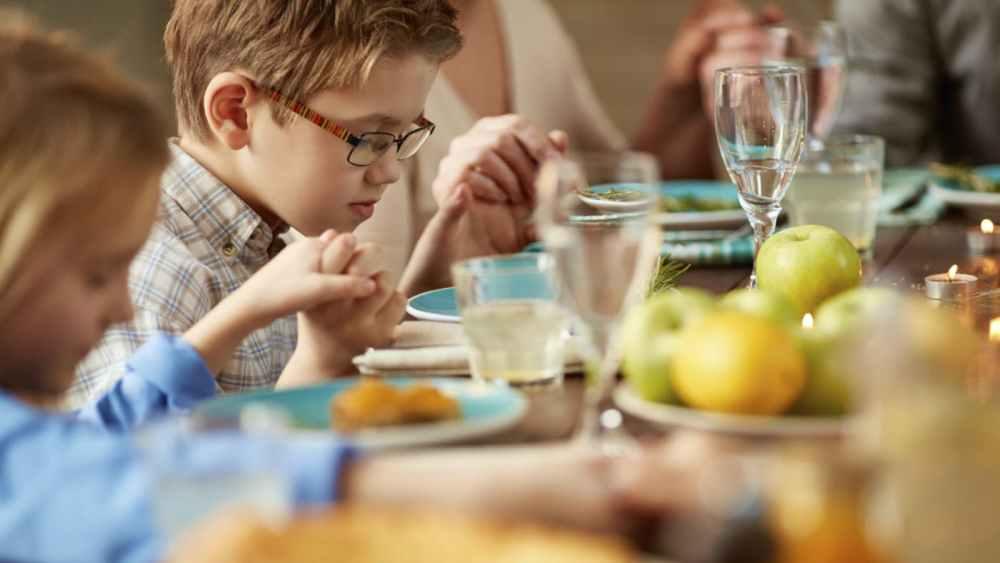 Doa Agama Kristen Sebelum Makan