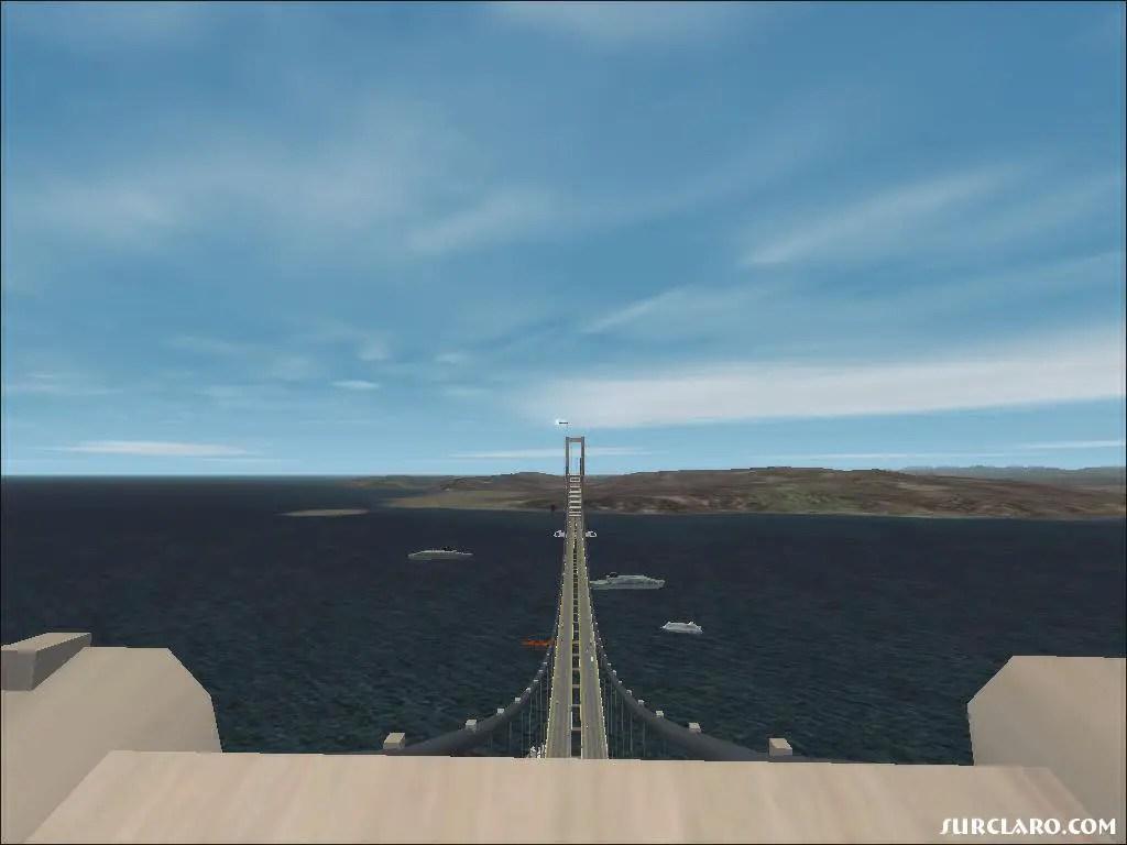 Fs2002 The Gibraltar Bridge 8863 Surclaro Photos