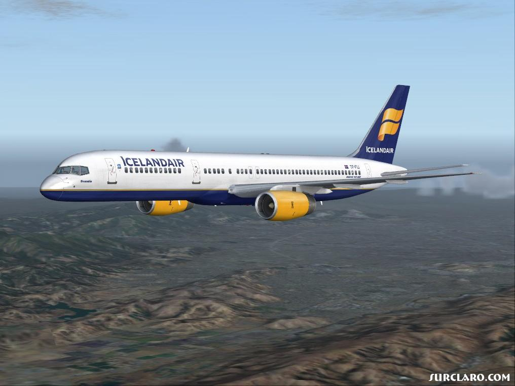 FS2004 Icelandair 8604 SurClaro Photos