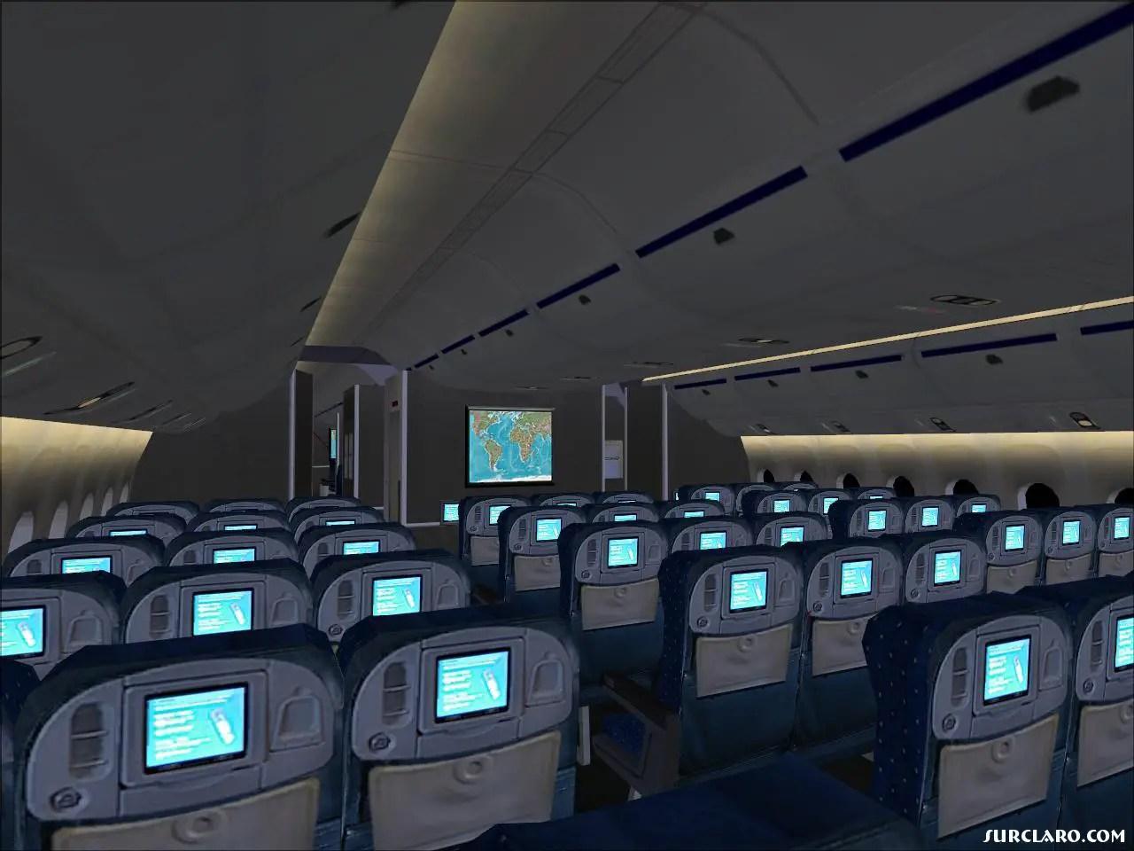 Fs2004 777 Passenger Cabin 7666 Surclaro Photos