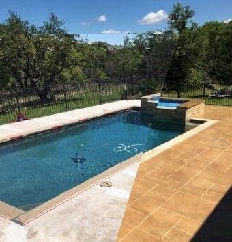 austin texas pool deck resurfaced