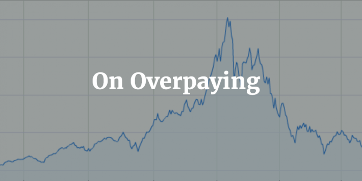 On Overpaying