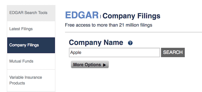 Company Name Apple