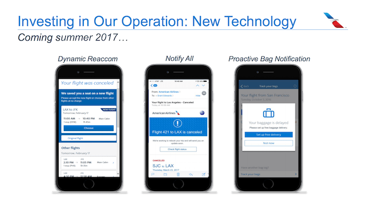American Airlines AAL Investing In Our Operation - New Technology