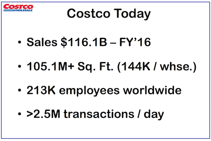 COST Costco Wholesale Costco Today