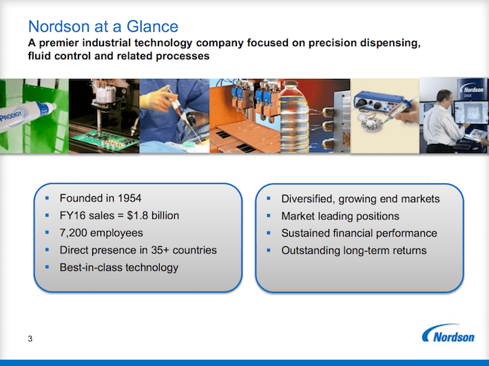 NDSN Nordson At A Glance