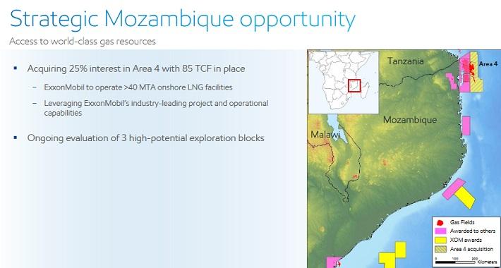 XOM Mozambique