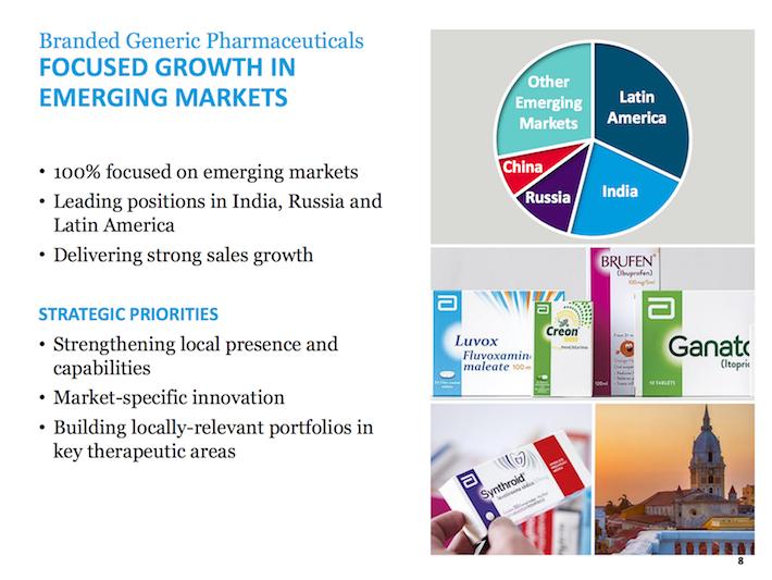 ABT Abbott Laboratories Focused Growth in Emerging Markets