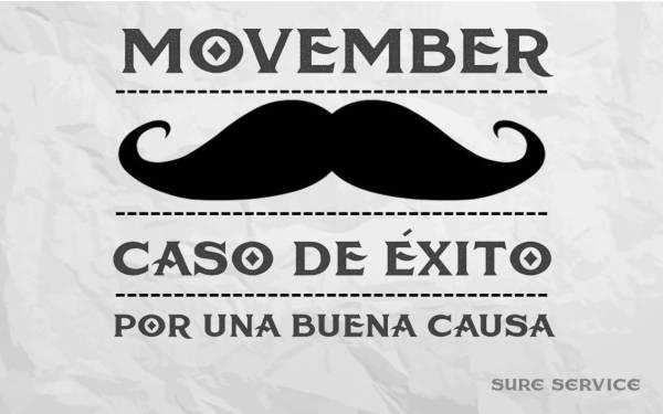 Movember: Recaudación de fondos y bigotes