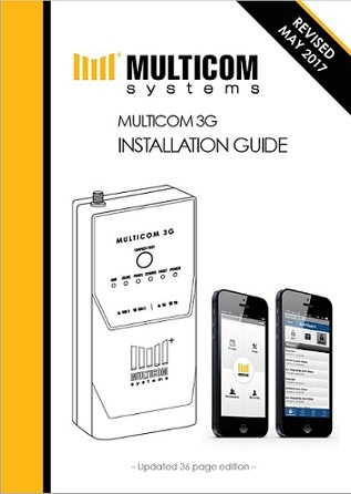 Multicom Alarm Communicator Install Manual