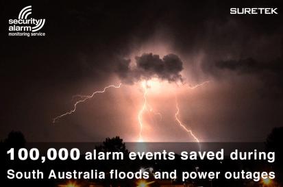 100,000 alarm events saved