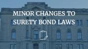 surety bond changes