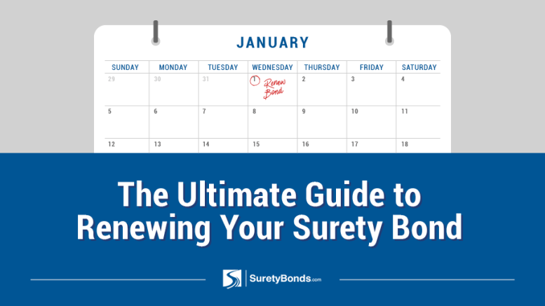Ultimate Guide to Renewing Your Surety Bond