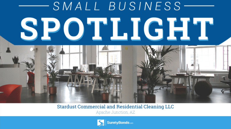 SuretyBonds.com Small Business Spotlight: Stardust Commercial and Residential Cleaning