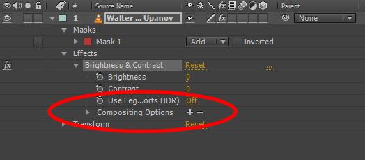 After Effects CC Tính năng mới 04 - Tùy chọn kết hợp hiệu ứng
