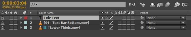 After Effects CC Tính năng mới 10 - Thiết lập thành phần