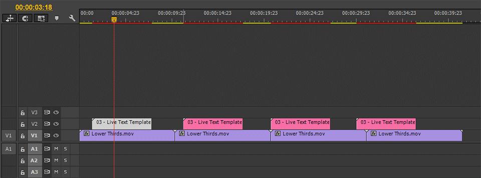 After Effects CC Tính năng mới 15 - Nhiều mẫu văn bản trực tiếp