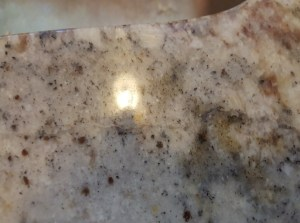Surface Link Granite Countertop Repair at the Front of the Sink