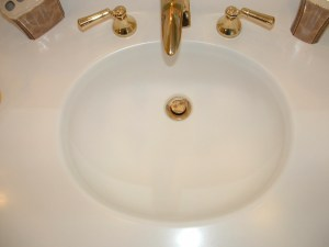 Sink Refinish Watermist Technology Surface Link Before