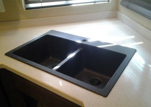 drop in sink, granite, granite composite, staron, solid surface, sink replacement, sink upgrade, sink replace, undermount sink, surface link, kitchen, sink, home