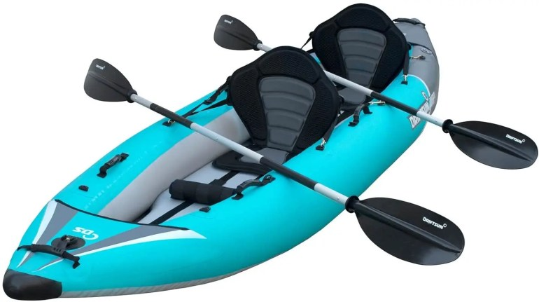 kayaks for big guys top 4