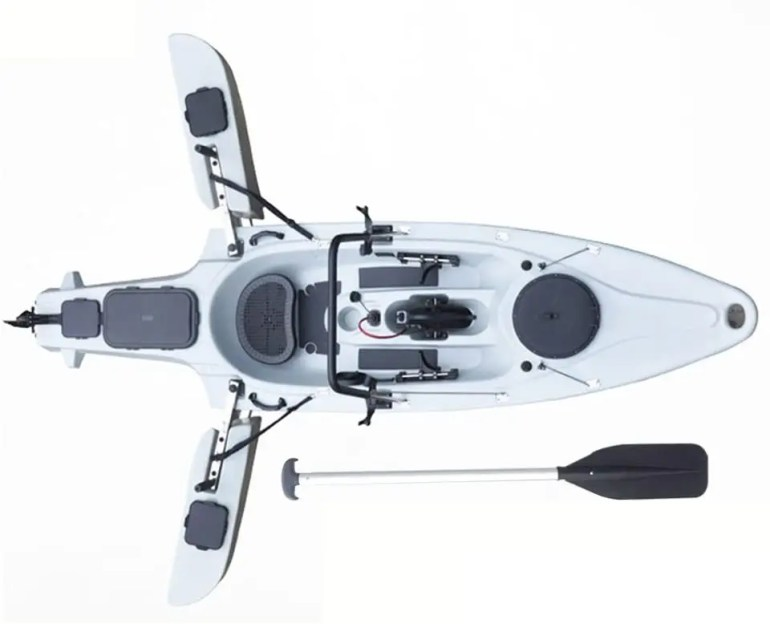 Pedal Drive and Motorized Fishing Kayaks Top 4