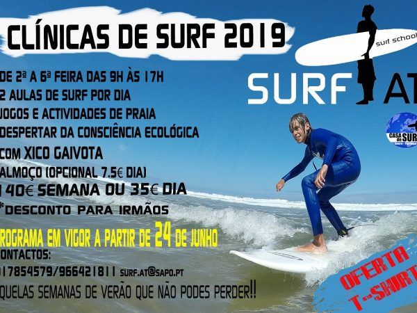 Clínincas de Surf 2019