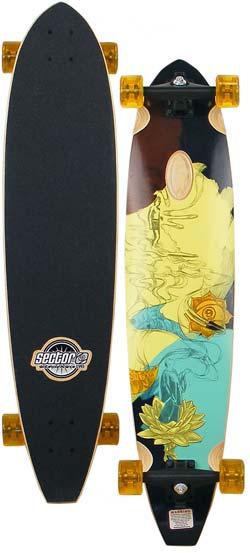 Sector 9 Joel Tudor Longboard Skateboard Yellow