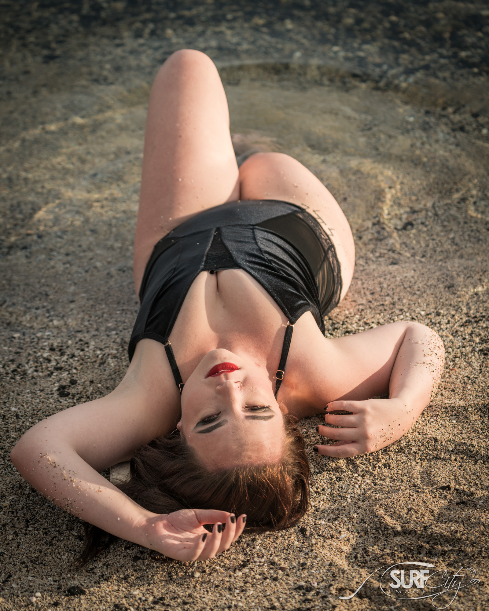 Beach Boudoir Photoshoot in Hawaii