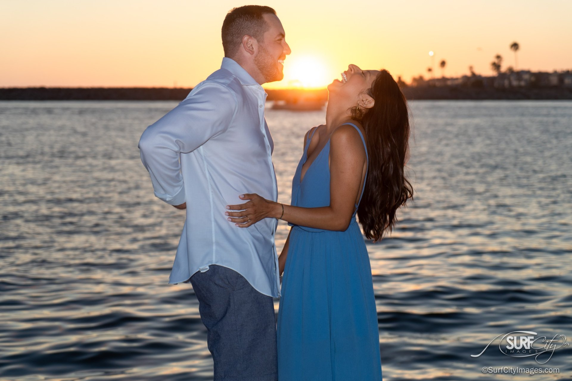 Engagement portraits in Southern California