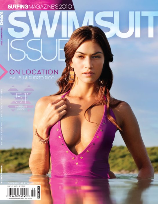 O'neill Swimsuit on cover of Swimsuit Issue