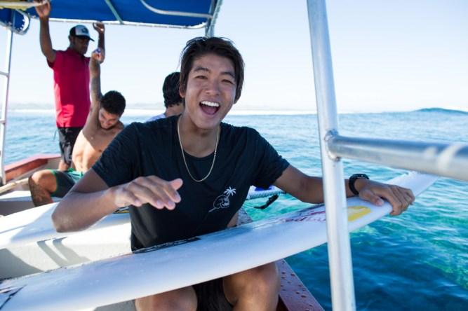 Kanoa Igarashi and Jeremy Flores, Quiksilver Season 1, 2017 Product shoot