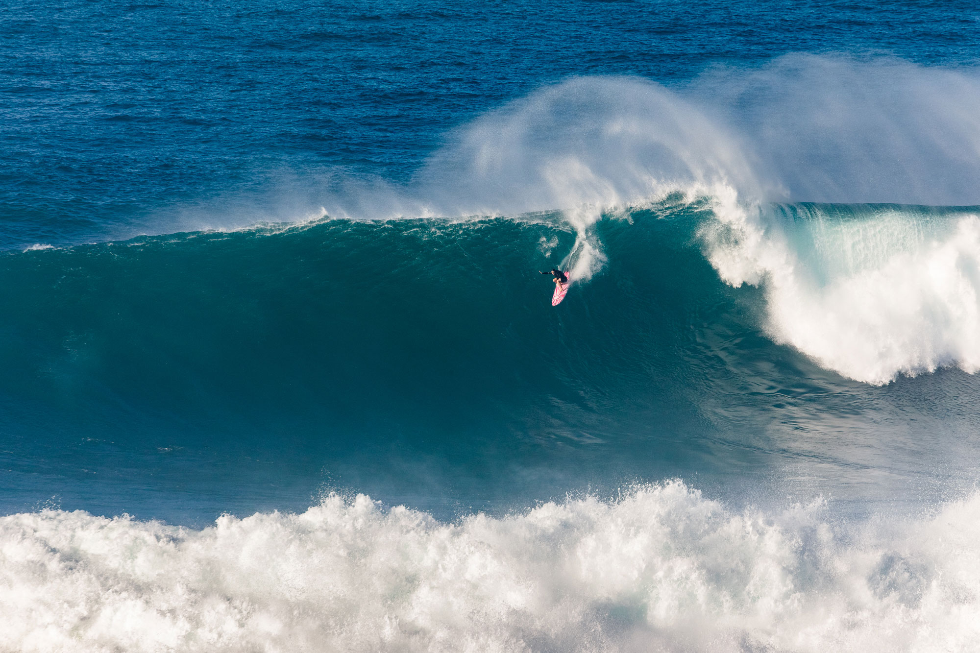 Bianca Valenti, on the massive wave she scored at Jaws