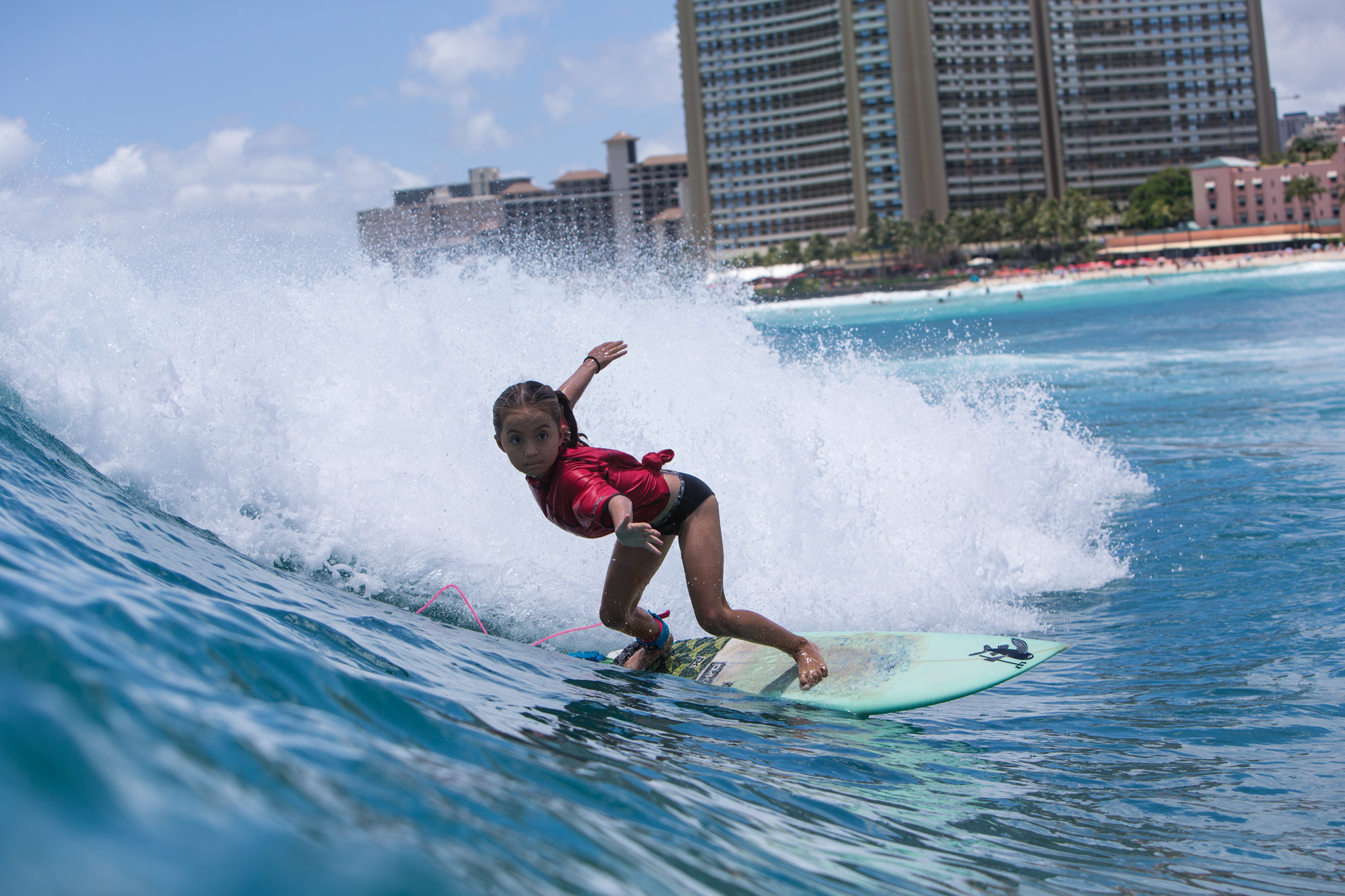 STOKED GROMS INVADE TOWN FOR SURF CONTEST - SURFER Magazine