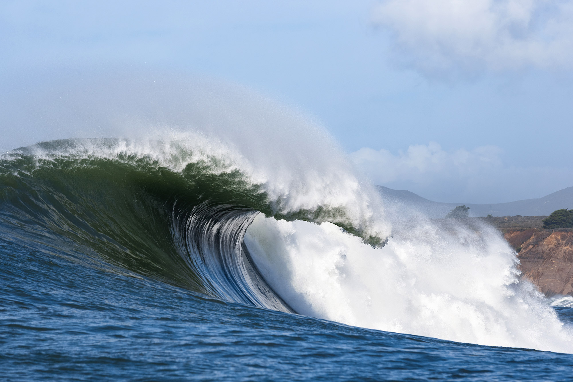 Big Wave Surfers Charge Mavericks After WSL Calls Off