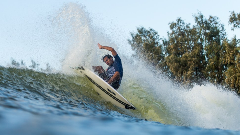 Day One Results from WSL's Freshwater Pro | SURFER Magazine