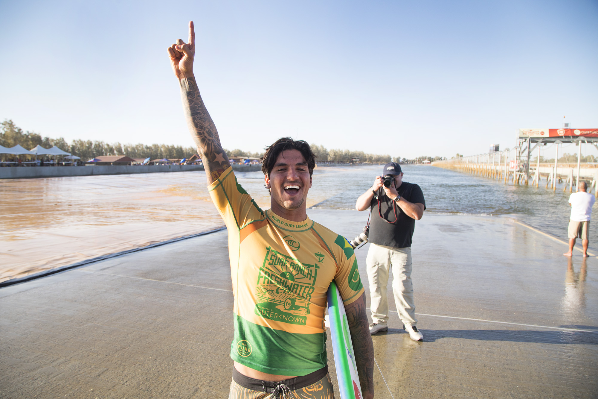 Gabe Medina and Lakey Peterson Win 2019 Freshwater Pro | SURFER Magazine