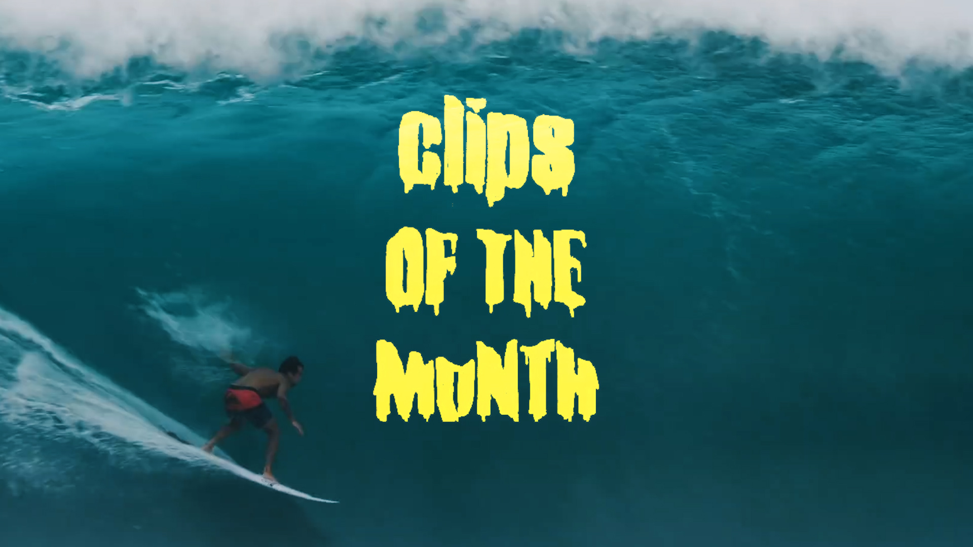 Koa Rothman's Late-Season Pipe Bomb Tops April's Clips of the Month