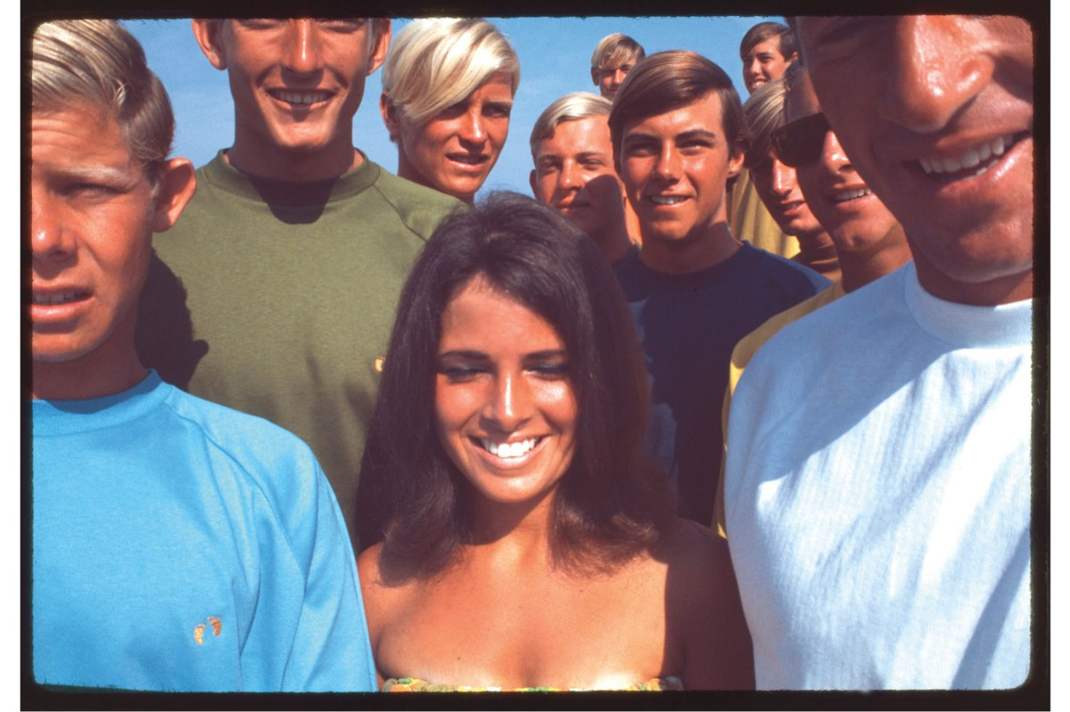 Gary Propper, Mike Tabeling and friends, Hang Ten photoshoot, mid-'60s