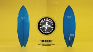 """""""Modern 2"""" by Sharp Eye with Surftech's Fusion Poly technology."""