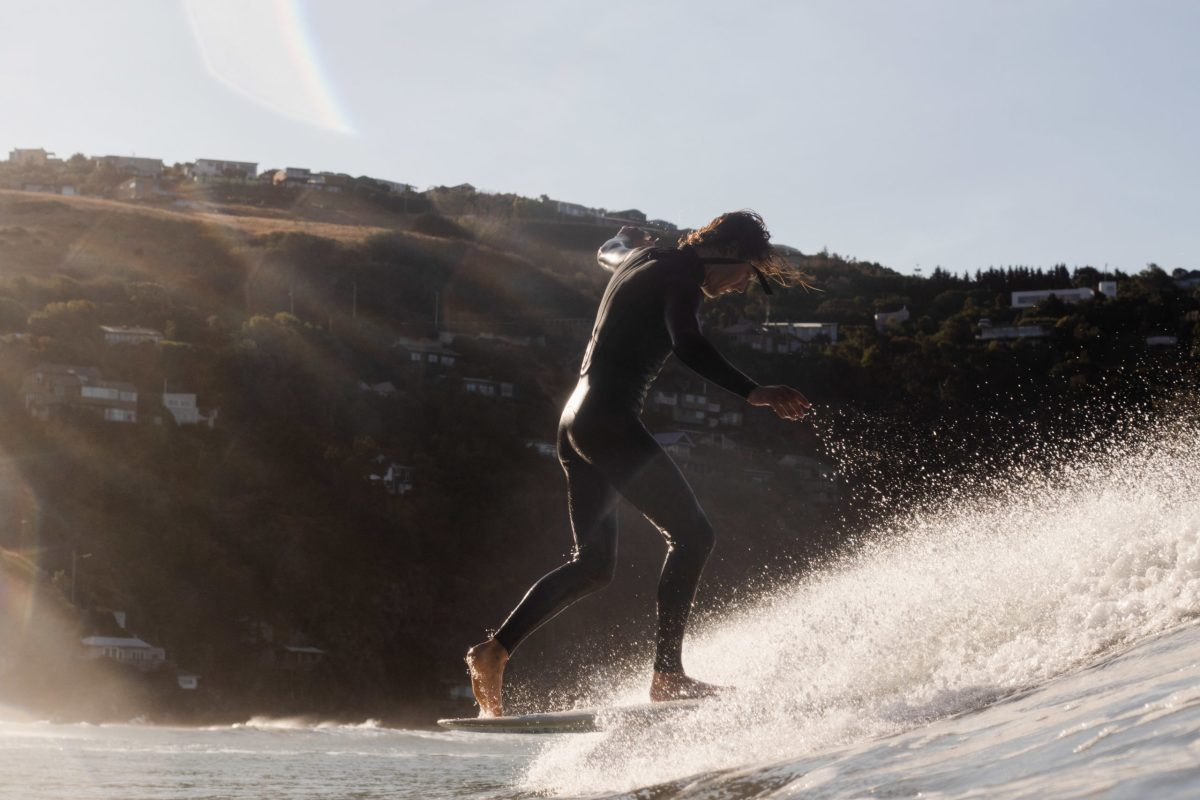 """""""After putting in plenty of miles driving around looking for surf this day, we ended up right back where we were staying, and found beautiful conditions,"""" says BenBen. """"This is Joe Kisling again, walking back from a heels hang."""""""