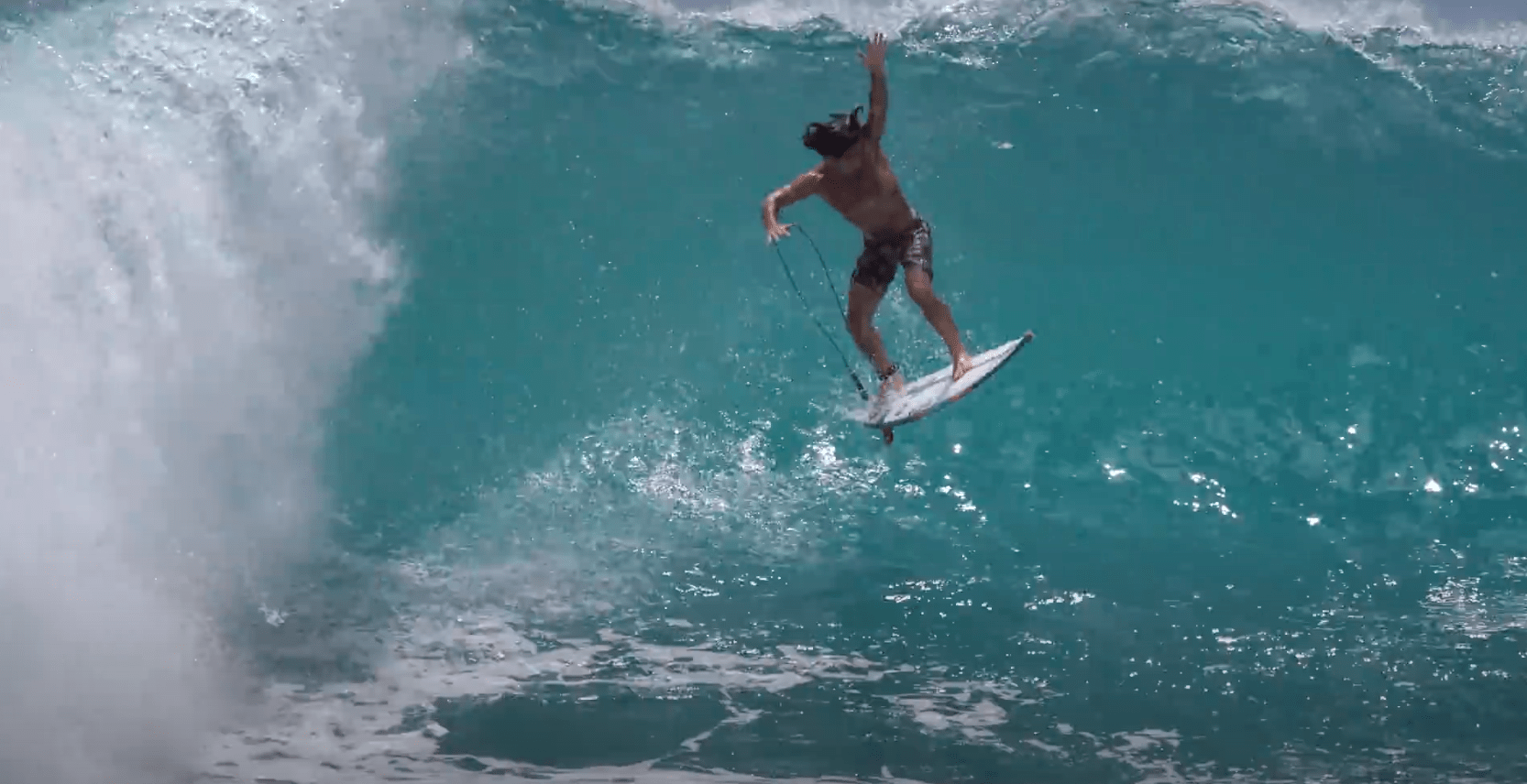 Mason Ho Has No Interest in Waves With Water in the Trough
