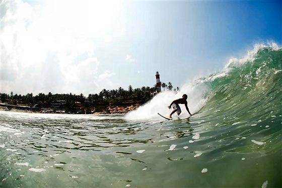 Kovalam Beach: India's premium surf spot