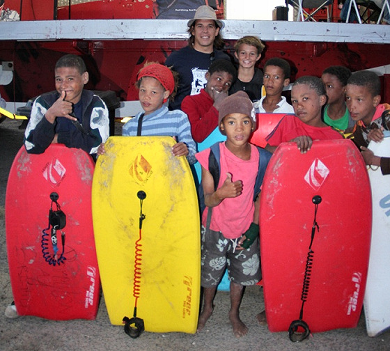 South Africa groms: the future pros
