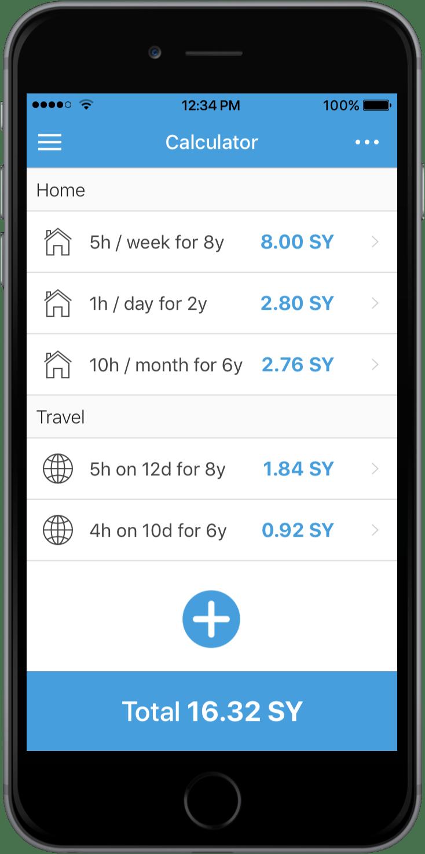 Surf Years Calculator' - Free App | SMI - Surfing Medicine