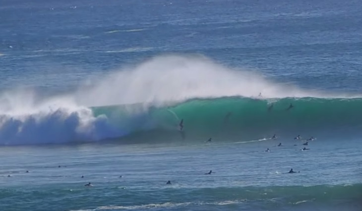 Video: XXL Swell Hits Padang Padang 6-27-15