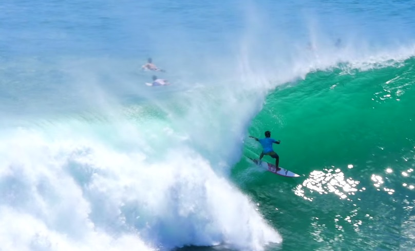 Video: Big Swell hits Uluwatu