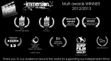 Immersion the Movie multi awards winner