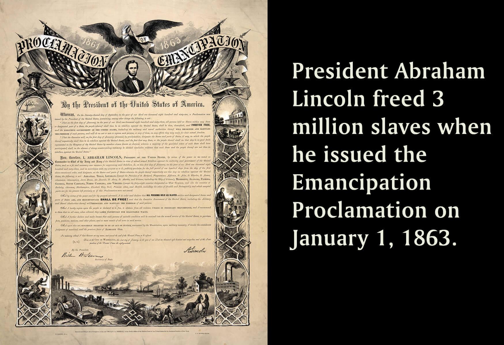 Emancipation Proclamation Resources Surfnetkids