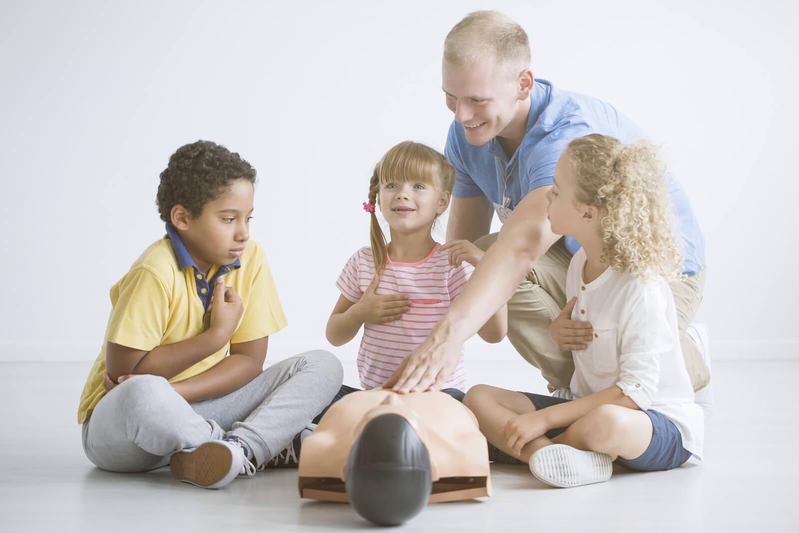 Teaching Kids Basic First Aid